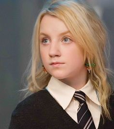 Luna Lovegood jouée par Evanna Lynch