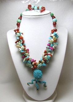 Octo Chippie - Jewelry creation by Linda Foust