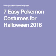 7 Easy Pokemon Costumes for Halloween 2016 Teen Boy Halloween Costume, Halloween This Year, Halloween Ideas, Easy Pokemon, Cool Pokemon, Pokemon Halloween, Pokemon Costumes, Art Projects, Crafts