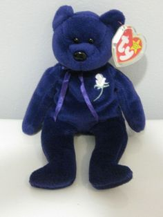 1997 willing to accept offers! Beenie Babies, Beanie Boos, Queen, Plush Animals, Big Eyes, Princess Diana, Cute Pictures, Bears, Teddy Bear