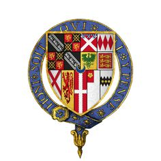 Coat of arms of Sir Anthony Browne, (ca - English courtier & Knight of the Shire, made Knight of the Garter Husband of Alice Gage. Anthony Browne, Order Of The Garter, Courtier, Sir Anthony, Olympic Medals, My Family History, People Of Interest, Emblem, Family Genealogy