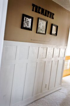 8 Successful Clever Ideas: Wainscoting Fireplace Laundry Rooms modern wainscoting board and batten.Wainscoting Fireplace Home wainscoting ceiling board and batten. Painted Wainscoting, Dining Room Wainscoting, Wainscoting Bathroom, Wainscoting Ideas, Wainscoting Height, Beadboard Wainscoting, Wainscoting Panels, Bathroom Wall, Master Bathroom