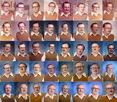 Un professeur s'est habillé de la même manière pendant 40 ans