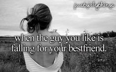 it's the worst feeling ever.