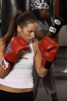 Boxing - one of the best full body workouts I've ever had!