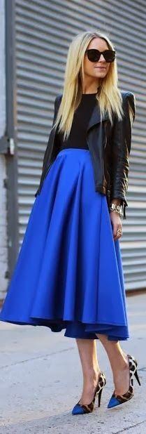 Maxi in blue