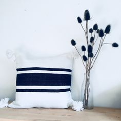 Add a Moroccan style to your room with our handmade Pompon Pillows. will bring you warmth and style. Pompon Pillows have a beautiful texture and are great to add to your home decor. Gorgeous Pompom Pillows, hand loomed in Marrakech on traditional wooden looms, from 100% cotton. This pompon pillows is beautiful as a bedcover or throw on your sofa. They create a stylish and chic atmosphere. All cottons are made using natural dyes. Berber, Beautiful Textures, Moroccan Style, Pillow Covers, Throw Pillows, Traditional, Marrakech, Dyes, Handmade