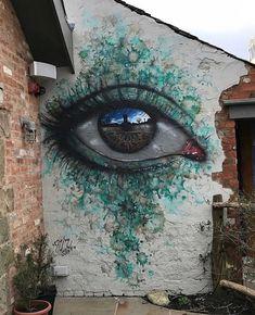 Stellar Mural  by @mydogsighs - Follow us! @dailyartistiq