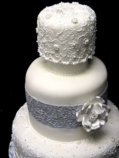 """Here is an article from the blog of Classic Cakes of Carmel, Indiana describing the trends in wedding cakes for this year:  """"Wedding Cakes for 2012!"""""""