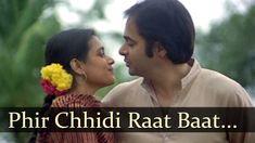 Bazaar - Phir Chhidi Raat Baat Phoolon Ki Raat Hai - Talat Aziz - Lata M...