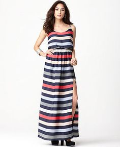 Striped Maxi Dress, on Sale today (Wednesday) only!