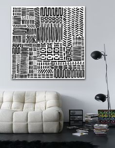 contemporary fine art and original abstract paintings Diy Wall Art, Wall Art Decor, Canvas Wall Art, Indian Home Interior, Tribal Decor, Home Decor Paintings, Arte Popular, Antique Decor, White Art