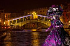 Photographic Print: Elaborate Costume for Carnival Festival, Venice, Italy by Jaynes Gallery : Venetian Carnival Masks, Carnival Of Venice, Venice Carnivale, Venetian Masquerade, Masquerade Masks, Vincent Van Gogh, Costume Venitien, Venice Mask, Carnival Festival
