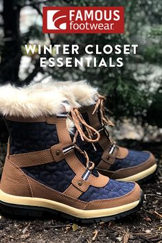 0d55b8570fa Brrrr-ing on the winter weather! Famous Footwear has you covered with the  shoe