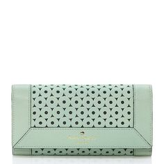Sure....I'll take one of these cute mint wallets! | Kate Spade