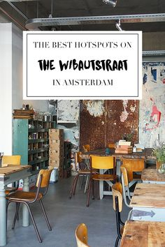 """Visiting the Wibautstraat in Amsterdam East? Make sure to check out the list on travel blog http://www.yourlittleblackbook.me with all the best hotspots, restaurants, bars, shops and more. Planning a trip to Amsterdam? Check http://www.yourlittleblackbook.me/ & download """"The Amsterdam City Guide app"""" for Android & iOs with over 550 hotspots: https://itunes.apple.com/us/app/amsterdam-cityguide-yourlbb/id1066913884?mt=8 or https://play.google.com/store/apps/details?id=com.app.r3914JB"""