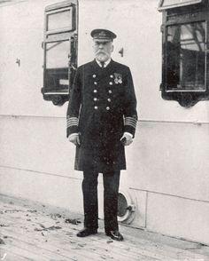 Titanic Captain E J Smith circa 1912