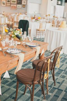 bentwood chairs (photo by Sweet Little Photographs)
