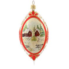 Globuri vintage din sticla cu peisaj | Fuleki Glass Glass Christmas Ornaments, Glass Ball, Balls, Humor, Holiday Decor, Vintage, Home Decor, Decoration Home, Room Decor