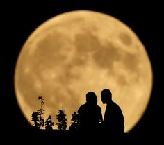 Harvest supermoon: Photos from around the world of the final full moon of 2014