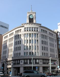 Wako building, Ginza, Tokyo
