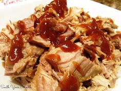 South Your Mouth: Crock Pot Pulled Pork with Buzzy's Butt Scratch