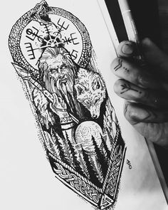 Available design! Lots of Nordic symbolism and esoteric touch. Good for arm etc. - Available design! Lots of Nordic symbolism and esoteric touch. Good for arm etc. Size can be adjust - Viking Tattoo Sleeve, Viking Tattoo Symbol, Rune Tattoo, Norse Tattoo, Viking Tattoo Design, Thai Tattoo, Maori Tattoos, Viking Tattoos For Men, Viking Warrior Tattoos