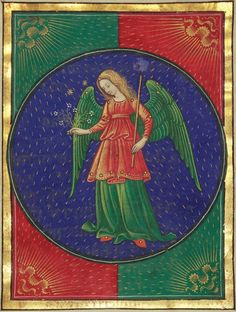 Virgo | Book of Hours | ca. 1473 | The Morgan Library & Museum: