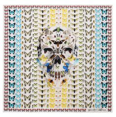 In celebration of the 10th anniversary of the skull scarf, Alexander McQueen presents an exclusive collaboration with Damien Hirst. The iconic skull scarf has been a signature accessory of the house first seen in the 2003... »