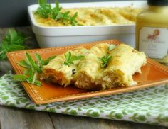 Creamy Dill White Bean Manicotti the perfect vegetarian dish
