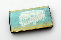 Tobacco Pouch, Original Illustrations, april trends, vintage finds, vintage print, van, Unisex Gift. #tobacco #case #accesories