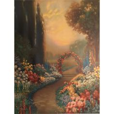 """""""Blooming Time"""" print by Artist R. Atkinson Fox"""