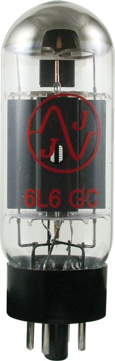 JJ 6L6GC  Octal power tube (Max Plate Watts = 30W). This Slovakian tube has colorful lows, loose / easy-going mid body and a brightly shining chime for the highs. In overdrive, it offers a tight and focused bite with crisp, bright and well-defined articulation. www.amplifiedparts.com