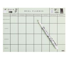 Organise your family and home with this gorgeous Meal Planner
