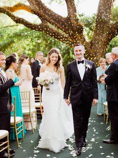 A Blush & Gold Wedding