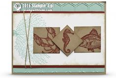 "CARD: Retiring By the Tide ""Sea Life"" card 