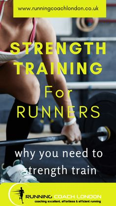 Strength training for runners is misunderstood by most runners. Not many runners strength train despite the many benefits. Weight Training For Runners, Strength Training For Runners, Strength Training For Beginners, Running For Beginners, Strength Training Workouts, Training Motivation, Training Plan, Running Workouts, Running Training
