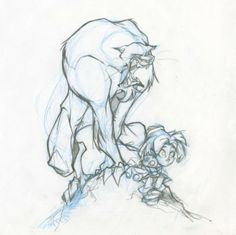 Francisco Herrera - Enfant et Tigre