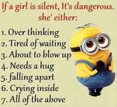 Funny Minion Quotes 008 27 Funny Pics That'll Inject Some Happy Into Your Life Minion Quotes & Memes 30 Hilarious Minions Jokes Top 30 Very Funny Texts 50 Hilariously Funny Minion Quotes With Attitude… Funny Signs That'll Fill Your Mout. Funny Minion Pictures, Funny Minion Memes, Best Funny Jokes, Minions Quotes, Really Funny Memes, Stupid Funny, Hilarious Memes, Memes Humor, Fun Funny