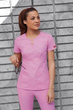 #medical #scrubs #nurse #pink