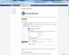 Handige plugin van Facebook voor WordPress. Deel nog makkelijker jouw content