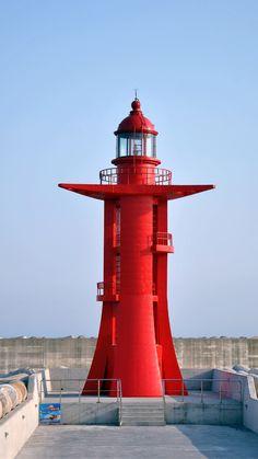 Jeju Island Lighthouse, Jeju-Do, South Korea- by mihgaros