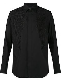 Angel Wing Embroidered Shirt