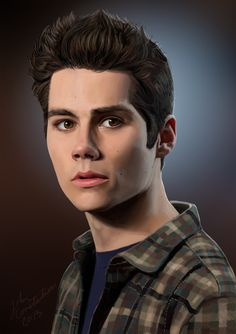 Dylan O'Brien / Stiles Stilinski by ~johnneh-draws on deviantART (Stiles Stilinski, Dylan O'Brien, Teen Wolf Fanart)