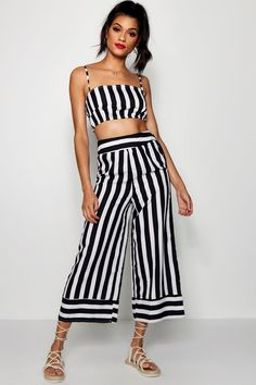 ac131970a10 Click here to find out about the Fiona Stripe Sqaure Neck Trouser Co-ord  from