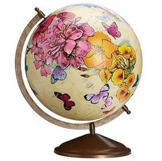 Artwork on globes by ImagineNation