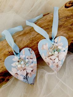 Shabby Chic Floral Heart Door Hanger,Vintage Style,Wooden heart ...