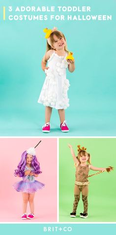 From the Unicorn Frappucino to a bubble bath, these toddler Halloween costumes will have your kids ready to go trick-or-treating!