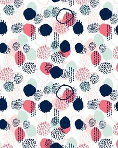 Orly - abstract painting minimal trendy girly gender neutral pattern decor