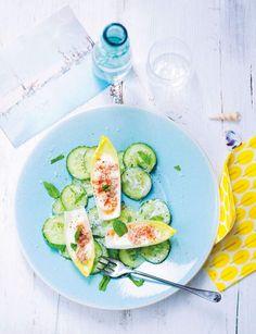 12 recettes pour tous les jours à moins de 300 calories Kitchen Recipes, Raw Food Recipes, Healthy Recipes, Sushi Style, Nordic Recipe, Raw Vegetables, Quick Snacks, Avocado Egg, Light Recipes